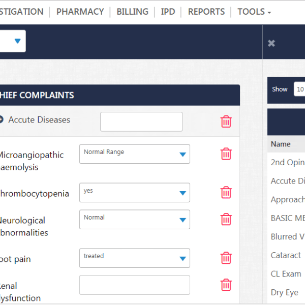 Cloudpital EMR Software in Saudi Arabia Dashboard 600x600 - Practice Management - Hospital software - EMR software - EHR - E Clinic software - Health Analytics -  -